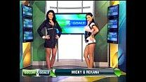 Goluri si Goale ep 11 Miki si Roxana (Romania naked news)