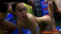 14004 Busty babe Chessie Kay Pissing Gangbang - 666Bukkake preview