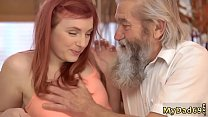 Daddy cums inside crony' companion's daughter and old young hardcore - 9Club.Top