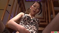 7249 Kei Akanishi finger fucks, sucks cock and enjoys hardcore sex  - More at Japanesemamas com preview