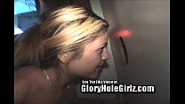 Glory Hole Hottie Whore Brooke Sucks Dick