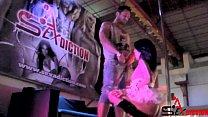 HardSEX in public room - Jessika Diamond and Ivan Dan