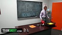 Innocenthigh - Schoolgirl Natalie Monroe Fucks Her Teacher!