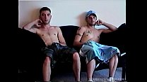 Vinnie Blows Amateur Straight Boys Buzz and Toby