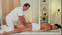 Image: Masseur gets his cock wanked and fucked