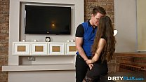 Dirty Flix - Teeny Stephanie Moon loves to please Preview