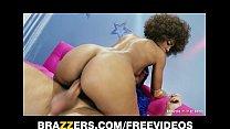 Sexy Ebony babe Misty Stone loves to deepthroat...