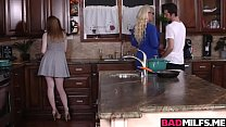 Hot mom Alura shared with a big dick with Dolly pornhub video