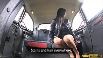 Screenshot Saucy Hot Brunette Gets Fucked By A Horny Taxi