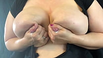 Big Swollen Breasts Emptied with Sighs of Relief