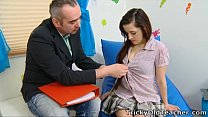 Mila fucks with teachers for A-grades porn image