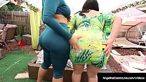 Lovely Latinas Angelina Castro & Ms Raquel Stra