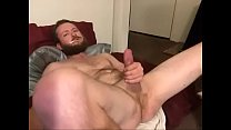Guy Plays With His Cock