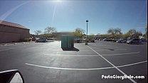 Porta Gloryhole BBW swallows cum in gym parking lot Preview