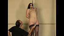 Amateur tit hanging torment and extreme breast bondage of chubby british slave Preview