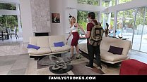 FamilyStrokes- Step-Sis Seduces Brother For Homework Answers thumbnail
