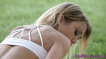 Image: Young gf anally banged by bbc outdoors