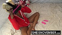 5004 HD Msnovember Screaming Load From Hardcore Anal Sex Getting Drilled From Behind Hard Inside Her Pink Pussy Doggystyle , Thick Ebony Hips Squeezed With Her Ass Bouncing Sheisnovember preview