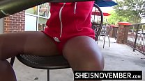 15063 HD Msnovember Screaming Load From Hardcore Anal Sex Getting Drilled From Behind Hard Inside Her Pink Pussy Doggystyle , Thick Ebony Hips Squeezed With Her Ass Bouncing Sheisnovember preview