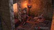 3Dxpassion.com. Beast Men Fuck Teen Girl In The Darkest Dungeon.