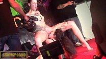 BDSM public domination show