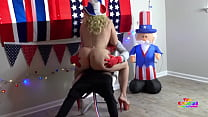 Blonde Milf Rides Clown Cock For 40 Akers And Mule