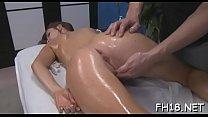 Nude massage clip
