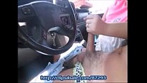 Girlfriend Give Her Sissy Friend A Handjob In P... Thumbnail