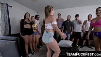 Bootylicious Pornstars fucking hard with regular dudes