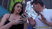 Brooklyn Chase Fucks Two Black Guys To Please Her Hubby thumbnail