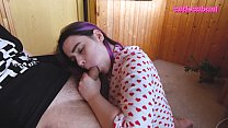 ORAL CREAMPIE FOR MY CUTE STEPSISTER