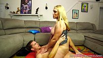 Busty Mom Gets Stretched Out by Big Dick Son صورة