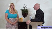 Busty Housewife (Karen Fisher) In Hardcore Sex Action Secene Movie-18
