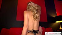 Natalia Starr strip down, suck and fuck a huge cock صورة