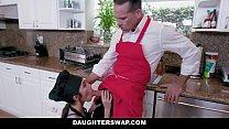 DaughterSwap - Teens Get Dicked Down By Hot Daddies صورة