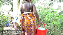 Ebony Housewife Wants A Quickie Instead Of Washing