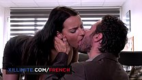 Busty French Brunette Sophia Laure Fucked At Th
