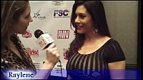 Huge Boobs Hot MILF Raylene Interviewed in the AVN Awards