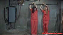 Bonded youngsters roughly whipped and punished