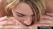 Lesbian Sex Tape With Horny Cute Teen Girls video-03
