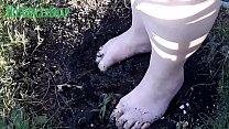 HotGingersnap Feet Foot Fetish Muddy On Clip4sale