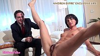 Milf shows her bizarre pussy for Andrea Diprè thumb