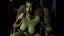 House of Erotic Monster - 3D