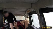 16452 Lovely blonde woman appreciates ass banging as taxi installment preview