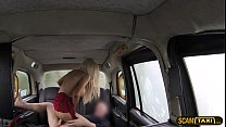 5485 Lovely blonde woman appreciates ass banging as taxi installment preview