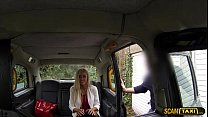 14231 Lovely blonde woman appreciates ass banging as taxi installment preview
