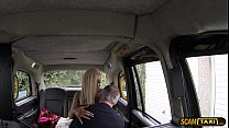 15815 Lovely blonde woman appreciates ass banging as taxi installment preview
