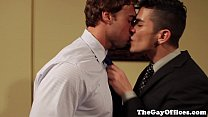 Officesex hunk sucked and fucked