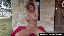 Mature Big Boobed Deauxma Works Out All Nude On...