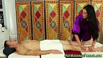 Smalltits masseuse jerks